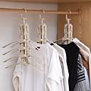 זול ביגוד מדף אחסון-פלסטי Multi-function / מתקפל / רב שכבתי מכנסיים / ביגוד / תחתונים קוֹלֶב, 1pc