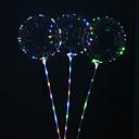 halpa Koristevalot-5kpl uudelleenkäytettävää valoa johtava ilmapallo pyöreä kupla koristelu häät infantiles syntymäpäiväjuhlat sisustus