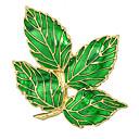 זול סטים של תיקים-בגדי ריקוד נשים תפס לשיער גיאומטרי Leaf Shape מסוגנן עיצוב מיוחד מתוק סִכָּה תכשיטים עלה עבור יומי עבודה פֶסטִיבָל