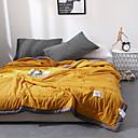 povoljno Kompleti posteljine-Udobno - 1pc jorgan Pasti / Proljeće / Ljeto Mikrofibra Jednobojni / Jednostavan