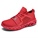 hesapli Kadın Atletik Ayakkabıları-Kadın's Atletik Ayakkabılar Düz Taban Yuvarlak Uçlu Tissage Volant Sportif Koşu İlkbahar yaz Siyah / Kırmzı / Mavi