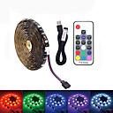billiga LED-ljusslingor-LOENDE 2m Ljusuppsättningar 60 lysdioder SMD5050 RGB Vattentät / USB / Party 5 V / USB Powered 1set