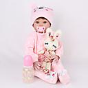 halpa Reborn Dolls-NPK DOLL Reborn Dolls Reborn Toddler Doll Tyttövauvat 22 inch Turvallisuus Gift Koulutus Lasten Unisex Lelut Lahja
