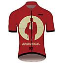 hesapli Bisiklet Formaları-21Grams James Bond Film Erkek Kısa Kollu Bisiklet Forması - Kırmızı Şarap Bisiklet Forma Üstler Nefes Alabilir Hızlı Kuruma Yansıtıcı çizgili Spor Dalları %100 Polyester Dağ Bisikletçiliği Yol