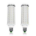 hesapli LED Mısır Işıkları-Loende 2 paket 40 w led mısır ışıkları 4000 lm e26 / e27 t 140 led boncuk smd 5730 sıcak beyaz beyaz 85-265 v