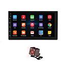 povoljno DVD playeri za auto-7 '' android 8.1 dvostruki 2 din 16g quad core gps auto stereo mp5 player fm stražnja kamera