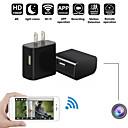 Недорогие Камеры для видеонаблюдения-мини Wi-Fi 4k камера зарядное устройство беспроводной USB няня камера ночного видения