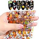 voordelige Nagelfoliepapier-10 kleuren nail art ster transfer papier hete verkoop regenboog hemel japanse stijl nagelfolie sticker nagellak zelfklevende sticker