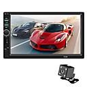 Недорогие DVD плееры для авто-SWM 7018B + 4-х камерная 7-дюймовая 2-дюймовая автомобильная аудиосистема с мультимедийным интерфейсом для автомобиля. Сенсорный экран MP5-плеера / встроенный Bluetooth для универсального RCA
