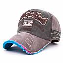 halpa ilmankostuttimet-Hattu Miesten Ultraviolettisäteilyn kestävä varten Vapaa-ajan urheilu Kirjain ja numero Puuvilla Kevät Kesä Syksy
