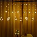 זול תוספות משיער אנושי-3.5 מטר חוטי תאורה 138 נוריות לבן חם דקורטיבי 220-240 V 1set