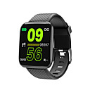 cheap Smartwatches-Kimlink 116plus Smart Watch BT Fitness Tracker Support Notify/Heart Rate Monitor Waterproof Smartwatch for IPhone/Samsung Andorid Phones