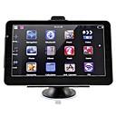 Недорогие DVD плееры для авто-7-дюймовый автомобильный GPS-навигатор 256/8 ГБ Bluetooth AV-FM передатчик с бесплатными картами поддерживает громкую камеру заднего вида