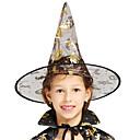 povoljno Kostimi za odrasle-vještica Šeširi Rekviziti za Noć vještica Povorka maski Žene Šešir Halloween Halloween Karneval Maškare Festival / Praznik Til Zlatan Žene Karneval kostime