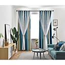 זול וילונות חלון-שני פנלים בסגנון קוריאני בסגנון טרי בסגנון חלול וילונות אפלה וילונות חדר שינה סלון חדר ילדים