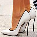povoljno Ženske cipele s petom-Žene Cipele na petu Stiletto potpetica Krakova Toe Lakirana koža Proljeće & Jesen Obala