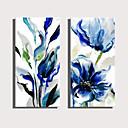 povoljno Slike za cvjetnim/biljnim motivima-Print Rolled Canvas Prints Stretched Canvas Prints - Botanički Cvjetni / Botanički Moderna Umjetničke grafike