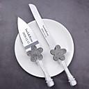billige Serveringssett-Harpiks / Rustfritt stål Bryllup / Fødselsdag 1 sæt / PP Pose Kniver / Spade / Bakevarer