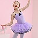 povoljno Odjeća za balet-Balet Haljine Djevojčice Trening / Seksi blagdanski kostimi Pamuk / Elastan / Til Falte Bez rukávů Hula-hopke / Onesie / Tutus