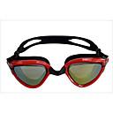 זול Swim Goggles-משקפי שחייה עמיד למים נגד ערפל גודל מתכוונן אנטי-UV עדשה מקוטבת מרשם ג'ל סיליקה PC לבן אפור שחור צהוב אדום ורוד