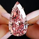 povoljno Modno prstenje-Žene Prsten 1pc Rose Gold Imitacija dijamanta Legura Nepravilan Klasik Korejski Moda Dar Dnevno Jewelry Klasičan Kruška