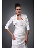 cheap Wedding Wraps-Satin Wedding Party Evening Wedding  Wraps Coats / Jackets
