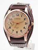 preiswerte Herrenuhren-Herrn Armbanduhr Japanisch Armbanduhren für den Alltag PU Band Charme Schwarz / Weiß / Rot / SSUO SR626SW