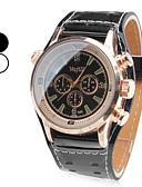 cheap Men's Watches-Men's Quartz Wrist Watch Japanese Band Charm Black / White