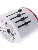 cheap Leggings-World Travel Adapter with 2 USB Charger High quality, durable