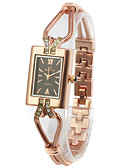 abordables Relojes Brazalete-Mujer Pliegue por encima Reloj de Moda Chino Azulejo Otros / Aleación Banda Reloj Pulsera Dorado