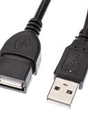 olcso Junior koszorúslány-ruhák-USB 2.0 hosszabbító kábel M / F kábel (3M)