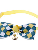 cheap Men's Ties & Bow Ties-Cat / Dog Collar Bow Tie / With Bell Nylon Brown / Blue / Pink