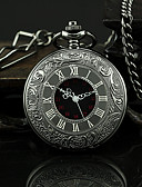 cheap Mechanical Watches-Men's Pocket Watch Casual Watch Alloy Band Vintage Black / SSUO 377