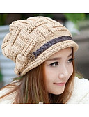 cheap Women's Hats-Women's Active Beanie / Slouchy - Solid Colored / Winter / Hat & Cap