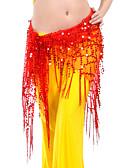 preiswerte Tanzzubehör-Bauchtanz Gürtel Damen Training Polyester Paillette Hüfttuch / Ballsaal