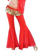 hesapli Göbek Dansı Giysileri-Göbek Dansı Alt Giyimler Kadın's Eğitim Polyester / Payetli Payet Pantalonlar