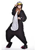 preiswerte Hübsche sexy Damenkleidung-Erwachsene Kigurumi-Pyjamas Pinguin Pyjamas-Einteiler Polar-Fleece Schwarz Cosplay Für Herren und Damen Tiernachtwäsche Karikatur Halloween Fest / Feiertage