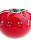 tanie Akcesoria do toalet-Kuchnia w stylu Jedzenie pomidorów Przygotowanie do pieczenia i gotowania Countdown Przypomnienie timera