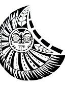 cheap Men's Tees & Tank Tops-#(1) Pattern Waterproof Totem Series Tattoo Stickers