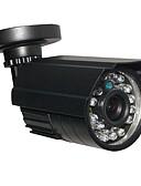cheap Socks & Hosiery-CCTV HD 24IR 900TVL CMOS IR-CUT Day/Night Waterproof Home Security Camera with Bracket