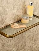 ieftine Rafturi de Baie-Raft Baie Antichizat Alamă / Hârtie Reciclabilă 1 piesă - Hotel baie
