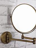 halpa Morsiusneitojen mekot-Kylpyhuoneen laitteet Säädettävä istuvuus Antiikki Messinki / Lasi 1 kpl - Mirror suihku tarvikkeet