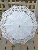 preiswerte Hochzeitsschleier-Spitze Hochzeit Alltag Maskerade Strand Regenschirm Regenschirme ca.78cm