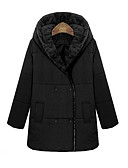 cheap Women's Outerwear-Women's Chic & Modern Coat - Solid Colored, Modern Style