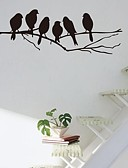Χαμηλού Κόστους Αντρικά Πουκάμισα-Αυτοκολλητα ΤΟΙΧΟΥ Animal αυτοκόλλητα τοίχου Διακοσμητικά αυτοκόλλητα τοίχου, Βινύλιο Αρχική Διακόσμηση Wall Decal Τοίχος