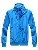 ieftine Îmbrăcăminte Bărbați de Exterior-Bărbați Jachetă Clasic & Fără Vârstă-Culoare solidă,Clasic