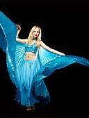 halpa Tanssiasusteet-Vatsatanssi Yläosat Naisten Kouluts Polyesteri Paljeteilla Rintaliivit / Tanssisali