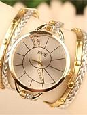cheap Fashion Watches-Women's Bracelet Watch Hot Sale Leather Band Bohemian / Fashion / Dress Watch White / Blue / Brown / One Year / SODA AG4
