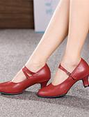 baratos Saias Femininas-Sapatos de Dança (Preto/Vermelho/Prateado/Dourado) - Mulheres - Não Personalizável - Moderno