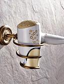 abordables Relojes Brazalete-Estantería de Baño Clásico Latón 1 pieza - Baño del hotel